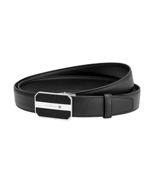 Montblanc  Cinturón Ejecutivo Cortado - a Medida con Hebilla Octagonal