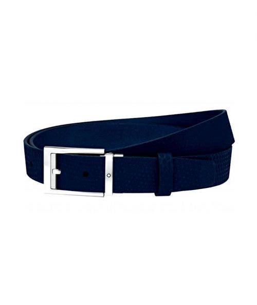 Montblanc  Cinturón Cortado a Medida -  con Hebilla Rectángular