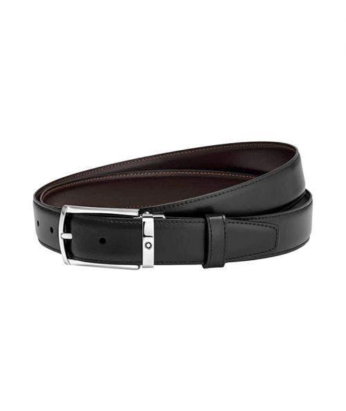 Montblanc  Cinturón Reversible - con Hebilla Rectangular