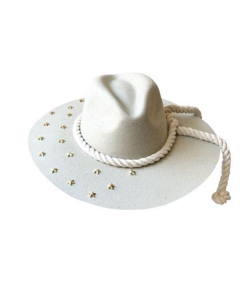 Monna Vintage  Sombrero Indiana - con Estrellas