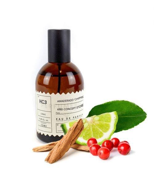 Perfumérica  HC3 Amaderado Chipre