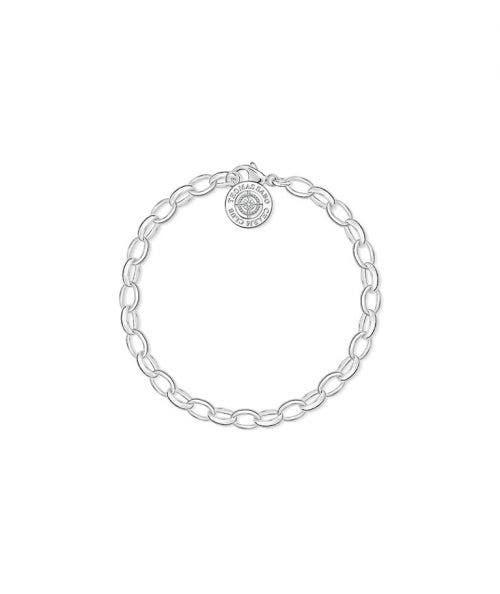 Thomas Sabo  Pulsera Charm Diamantes