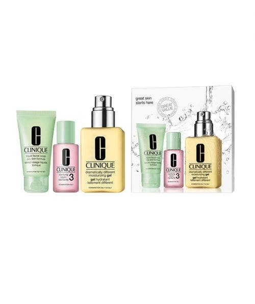 Clinique  Great Skin Starts Here Set - (with Dramatically Different™ Moisturizing Gel)